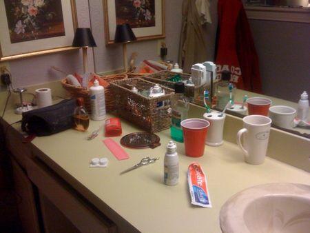 counter clutter