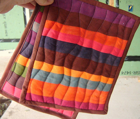 Groovy Hot Pads