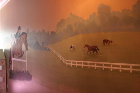 Horse mural1