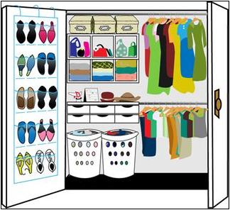 Beautiful Organize Your Closet