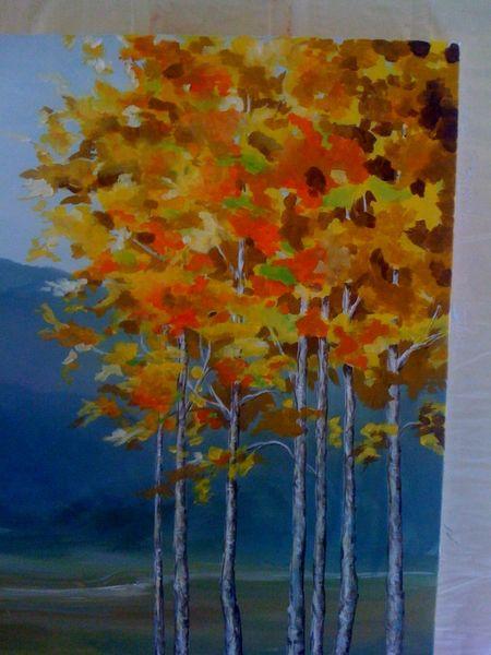 Aspen painting
