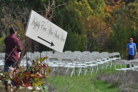 country ceremony site
