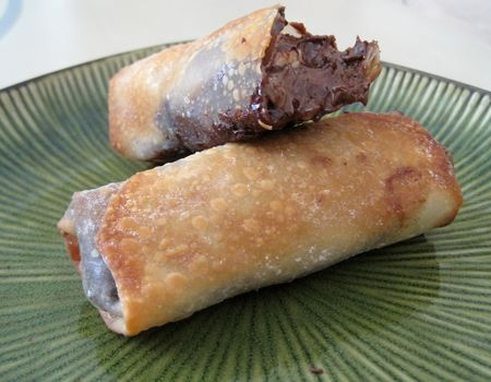 Nutella Banana Eggrolls photo