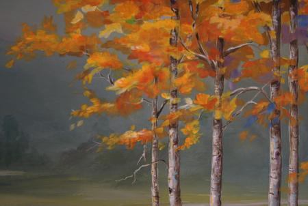 aspen close up painting