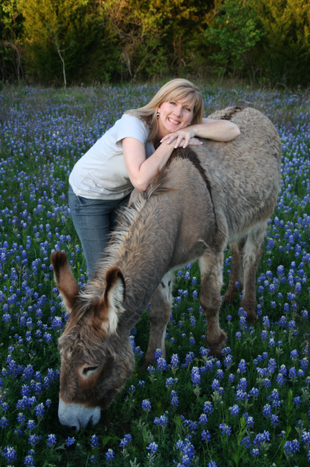 Rachel and Flash bluebonnets