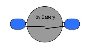 battery/LEDs