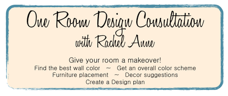 Design Consult with Rachel Anne