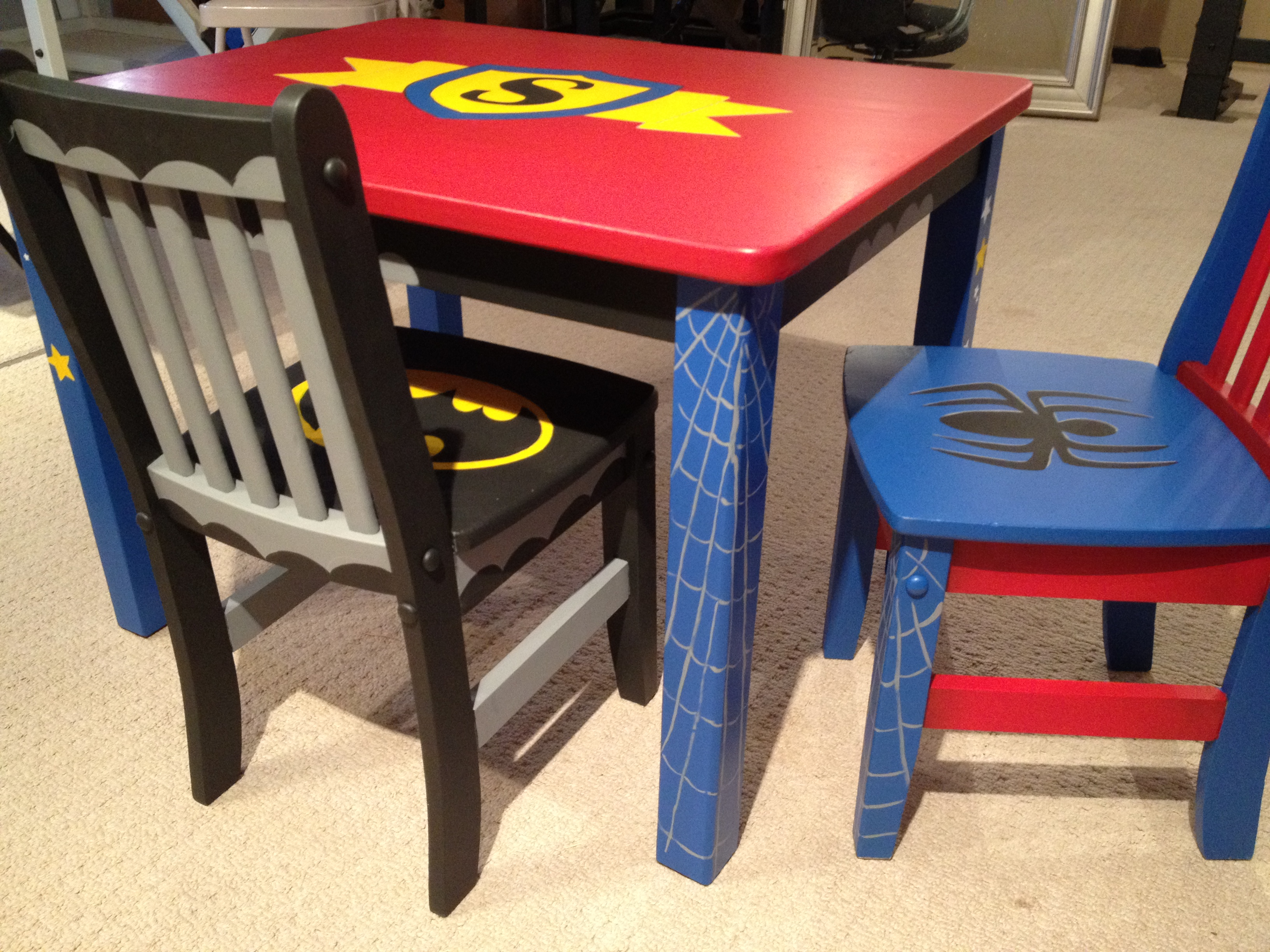 Superhero Furniture RachelRidge