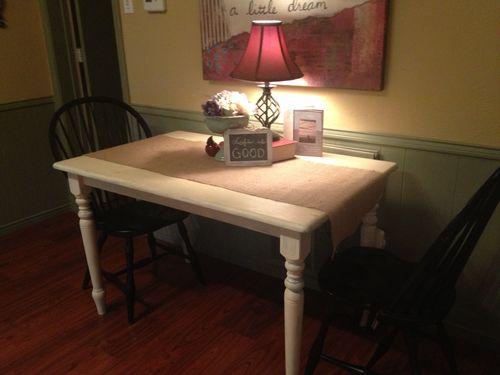 Rachel's kitchen table