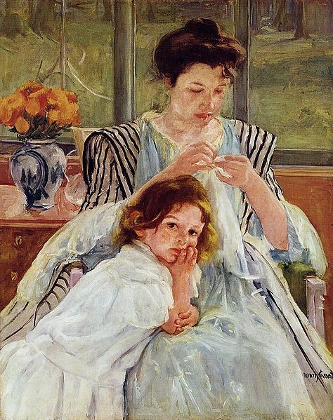474px-Mary_Cassatt_Young_Mother_Sewing