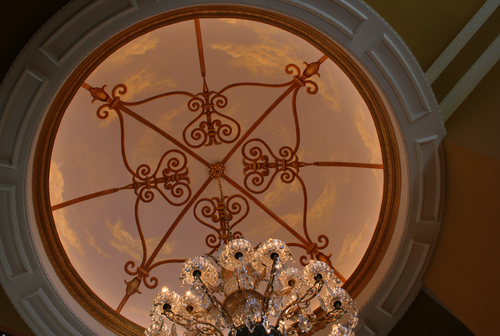 ceiling dome