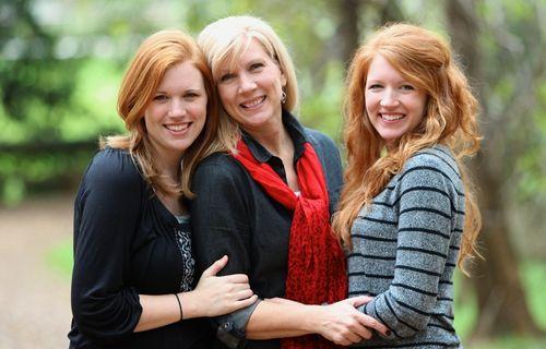 Rachel Anne, Lauren and Meghan
