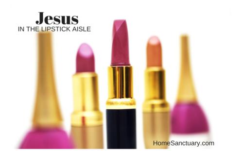 Jesus in the lipstick aisle