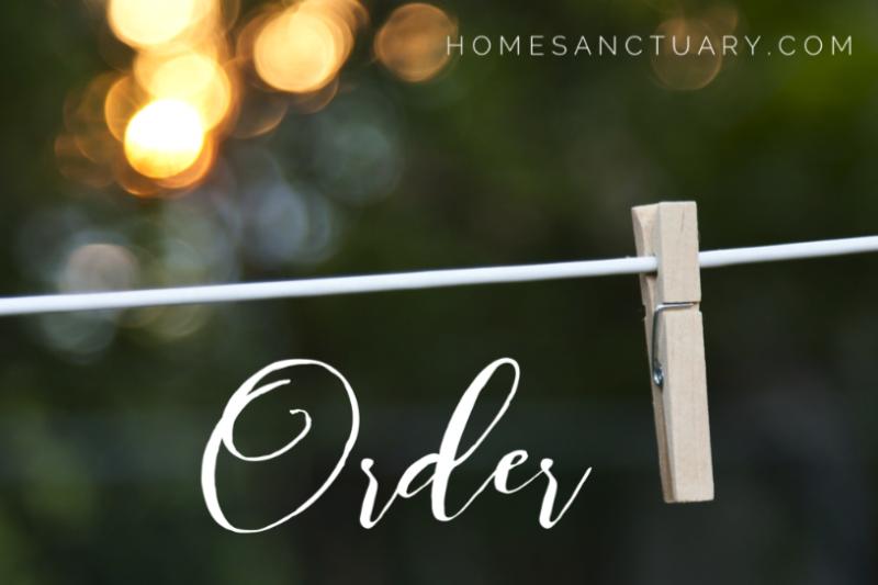 Order creates Sanctuary