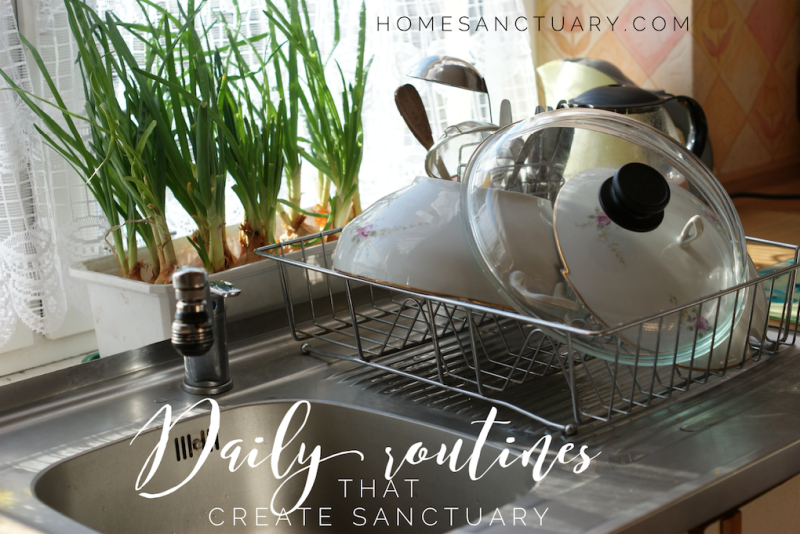 Daily Routines Home Sanctuary