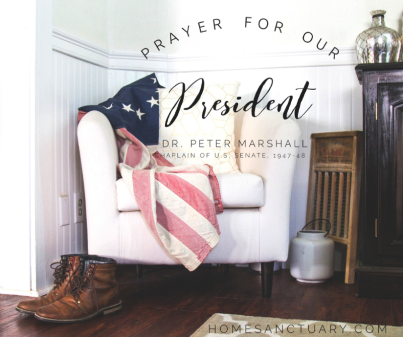 prayer for President