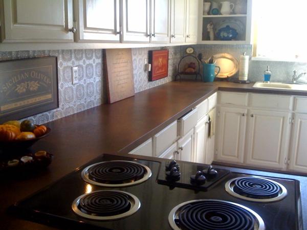 Painting Laminate Kitchen Cabinets Black