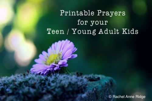 Prayers for your teen