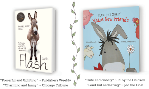 Flash-the-Donkey-books