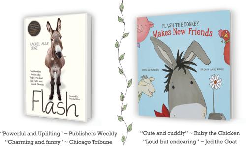 Flash-the-Donkey-books