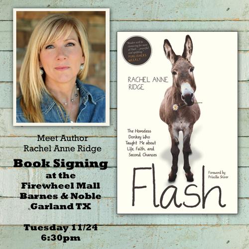 Rachel Anne Ridge book signing