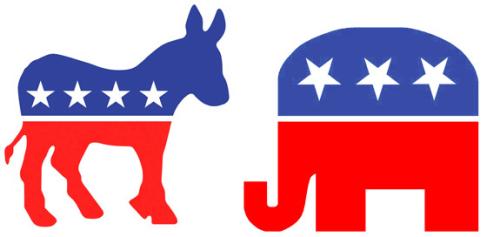 Donkey-and-elephant