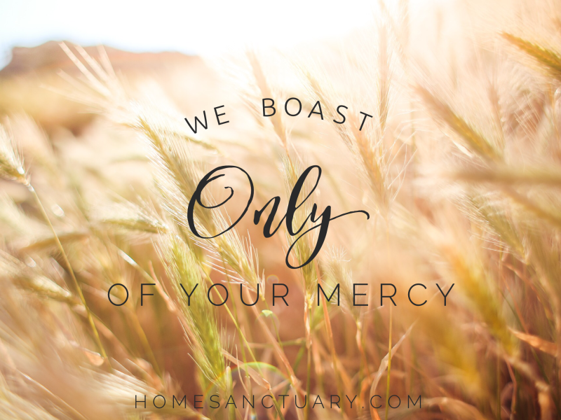 Prayer of the week homesanctuary