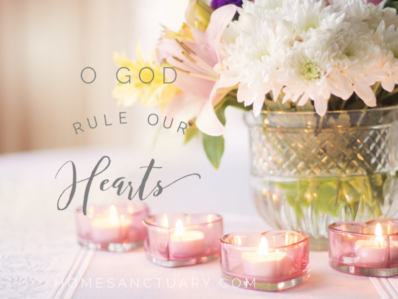 rule our hearts prayer bcp