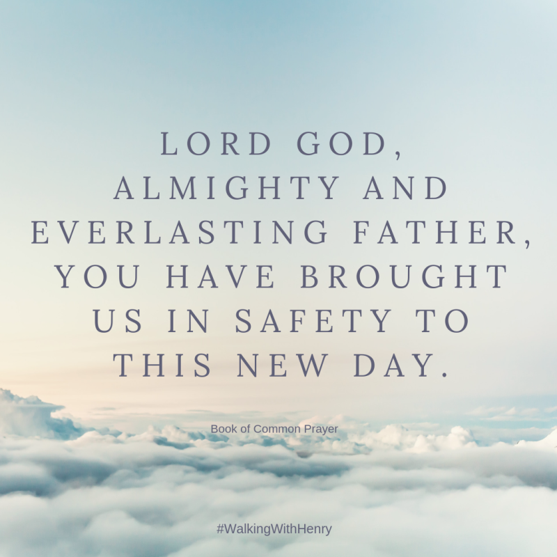 Lord God  almighty and everlasting Father  you have brought us in safety to this new day.